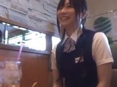 Hottest Japanese model in Crazy JAV clip