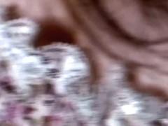 Spy cam downblouse amateur video with a petite asian brunette