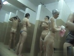 Hidden cameras in public pool showers 965