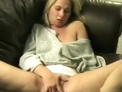 Watching my wife masturbate on the bed