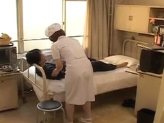 Adorable naughty nurse nailed hard in Japanese sex movie