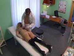 Amazing pornstar in Crazy Blonde, Medical porn scene