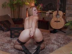 Fabulous pornstar in Exotic Redhead, Dildos/Toys porn clip