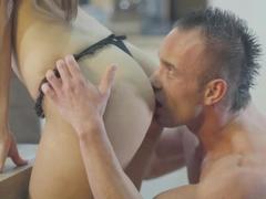Exotic pornstar Kitty Jane in Incredible Stockings, Big Tits xxx movie