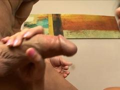 Horny pornstar Rosemary Radeva in Exotic Blowjob, Facial adult scene