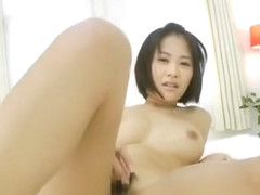 Best Japanese whore Misa Makise in Crazy Fingering, Handjobs JAV clip