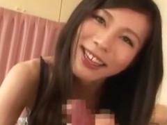 Incredible Japanese girl in Horny Blowjob, POV JAV scene