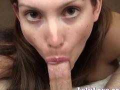 Lelu Love-POV Upskirt Suck Fuck