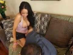 Hot wife Breanna Sparks is pleasing her husband