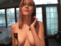 Young Teenie Bopper Blonde Partying Naked With Me Real Girl