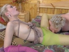 PantyhoseTales Video: Mary A and Jack A