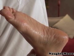 Busty redhead massage amateur pussyfucked