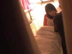 Japanese slut screwed hard by her lover in medical porn tape