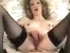 Cuckold Archive vintage MILF with her hired BBC Bull girlsy