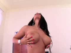 Kyra Hot lives up to her name in this solo vid