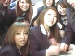 Hottest Japanese whore Ami Shiina, Karin Onuki, Satsuki Koyanagi in Horny JAV movie