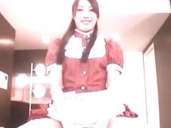 Fabulous Japanese chick Mau Morikawa in Horny BDSM, Handjobs JAV scene