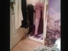 sortie de la douche