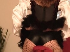 Amazing Homemade record with Brunette, Stockings scenes