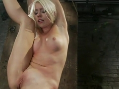We yank a leg up, cane herthen make her cum until she's totally physically & emotionally wrecked