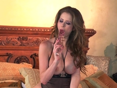 Incredible pornstar Emily Addison in Fabulous Masturbation, Dildos/Toys adult video