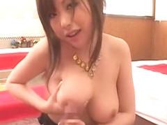Incredible Japanese chick Rio Hamasaki, Megu Ayase, Chichi Asada in Hottest Big Tits JAV scene