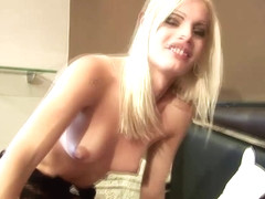 Shedoll gets her huge ass covered in cumshots in four