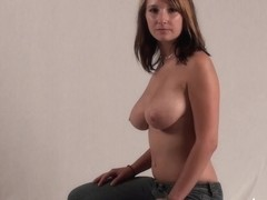 Breasty Legal Age Teenager Sara