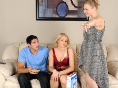 Vicky Vixen & Vanessa Cage & Tony Martinez in Mommy, You And Me Make 3 #02, Scene #04