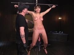 Big Tit Brat Gets Diabolic Discipline