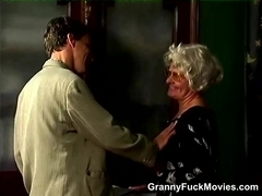 Grandma Turns Into A Real Slut