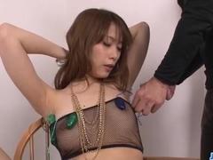 Tasty cocks to fulfill Rika Aiba?s dirty pleasures