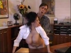 Beatrice breasty secretary office sex