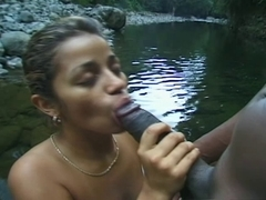 Latin Hottie Hazel's River Dance