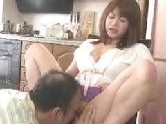 Incredible Japanese chick Karina Hatsumi in Horny Cunnilingus, Fingering JAV scene