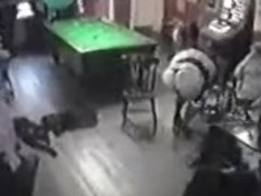 BBW pub stripper goes out of control and puts on a good show