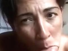 Tasty Brazilian milf fucked at a hotel