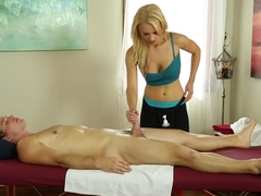 Exotic pornstar Alix Lynx in Horny Massage, Cumshots xxx scene