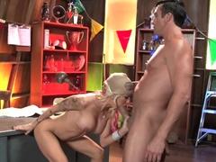 Crazy pornstars Billy Glide, Helly Mae Hellfire in Incredible Big Cocks, Big Tits porn video