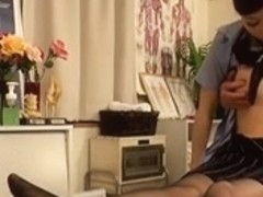Pervert Japanese Doctor's Massage...F70