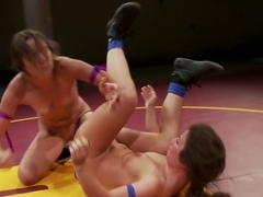 Feather Weight Tournament Finals Amber Rayne vs Serena Blair
