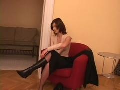 Tight Pussy On Spitroasted Whore Naomi