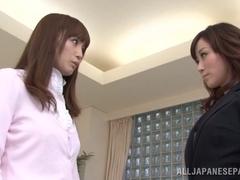 Fuuka Nanasaki hot Asian milf seduces nice teen