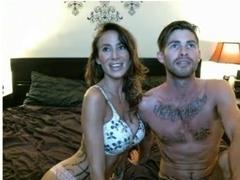 Sexy Couple Suck Fuck & Cum On Cam