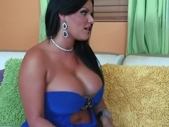 Latina honey fucked for job interview