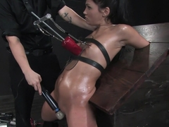 Jade Indica Oiled, fucked, bound and tortured.Countdown to Relaunch - 5 of 20