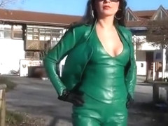 Horny amateur Latex, Fetish adult video
