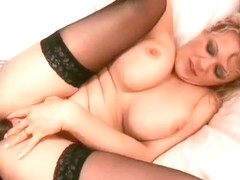 MILF needs an interracial fuck and swallows the cum from his black cock