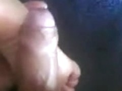 Cum on my wife's feet.