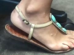 Feet and Sandals closeup